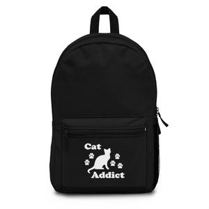 Backpack (Made in USA) - Cat Addict Bags Printify One Size