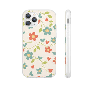 Flexi iPhone & Galaxy Phone Cases: Springtime Cat Phone Case Printify iPhone 11 Pro