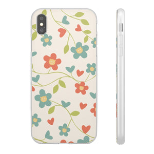 Flexi iPhone & Galaxy Phone Cases: Springtime Cat Phone Case Printify iPhone XS MAX
