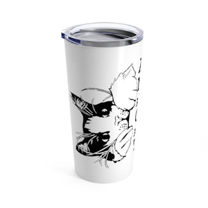 Vacuum Insulated 20oz Tumbler: All I Need Are Cats And Texas Mug Printify