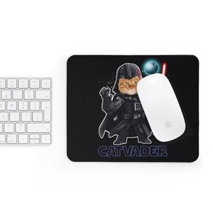 Mousepad: Cat Vader Home Decor Printify