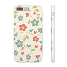 Load image into Gallery viewer, Flexi iPhone & Galaxy Phone Cases: Springtime Cat Phone Case Printify iPhone 7 Plus