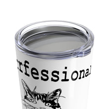 Load image into Gallery viewer, Vacuum Insulated 20oz Tumbler: Purrrfessional Mug Printify