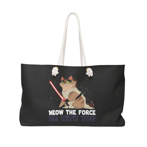 Copy of Weekender Bag: Cat Vader Bags Printify 24x13