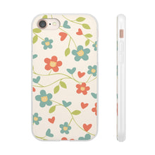 Load image into Gallery viewer, Flexi iPhone & Galaxy Phone Cases: Springtime Cat Phone Case Printify iPhone 8