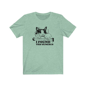 T-Shirt: I Found This Humerus T-Shirt Printify Heather Mint XS