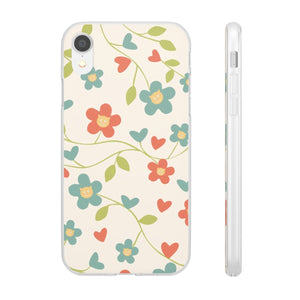 Flexi iPhone & Galaxy Phone Cases: Springtime Cat Phone Case Printify iPhone XR