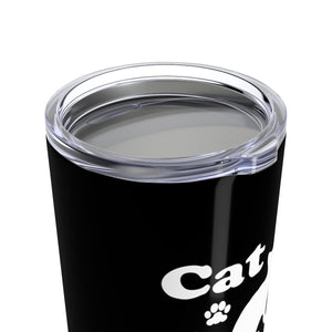 Vacuum Insulated 20oz Tumbler: Cat Mom Mug Printify