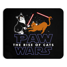 "Load image into Gallery viewer, Mousepad: Cat Vader Home Decor Printify 9""x7.5"""