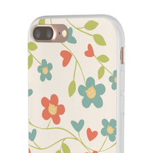 Load image into Gallery viewer, Flexi iPhone & Galaxy Phone Cases: Springtime Cat Phone Case Printify