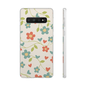 Flexi iPhone & Galaxy Phone Cases: Springtime Cat Phone Case Printify Samsung Galaxy S10