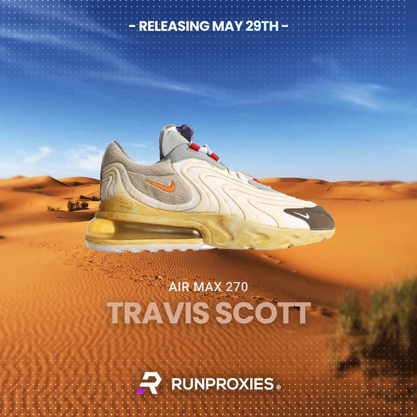 TRAVIS REACT AIR MAX 270