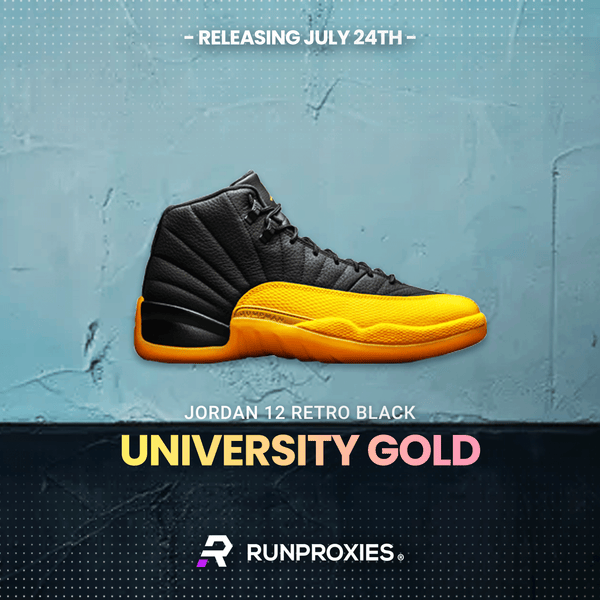 University Gold AJ12 & Yeezy Oat RF