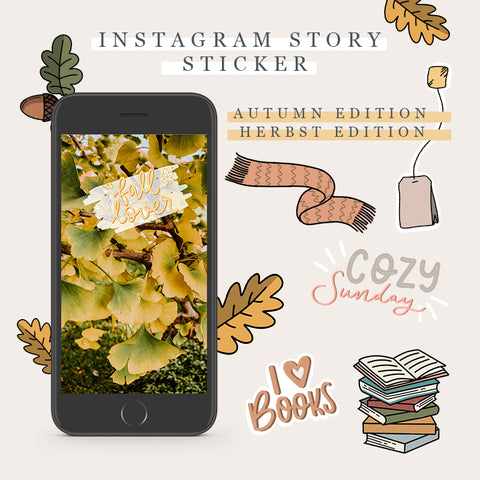 Instagram Story Sticker - Autumn Edition