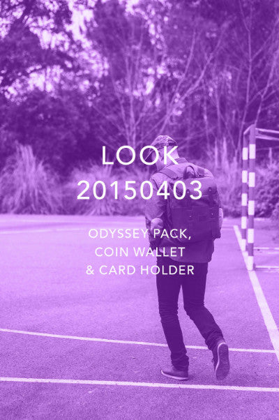 Look 20150403 - Odyssey Pack, Coin Wallet and Card Holder