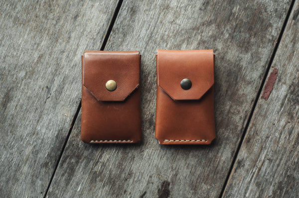 Comparison between an old and a new Coin Wallet