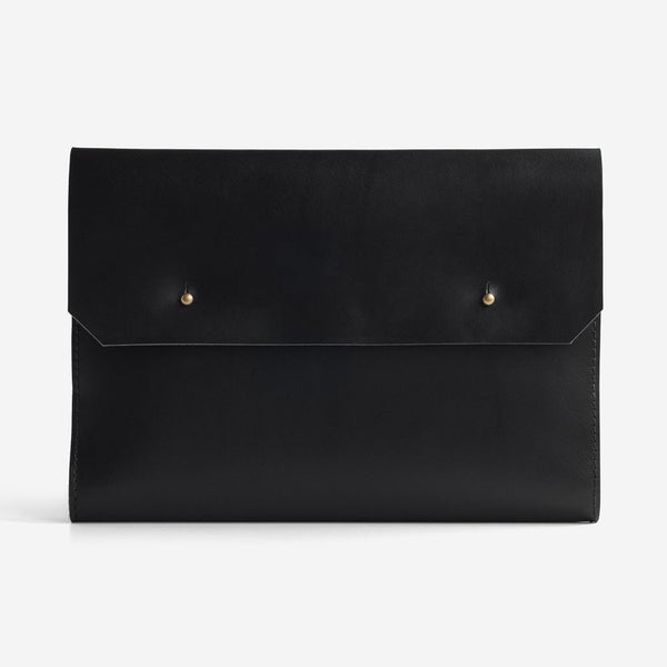 Noise Goods: Folio Clutch A4 Black - 1