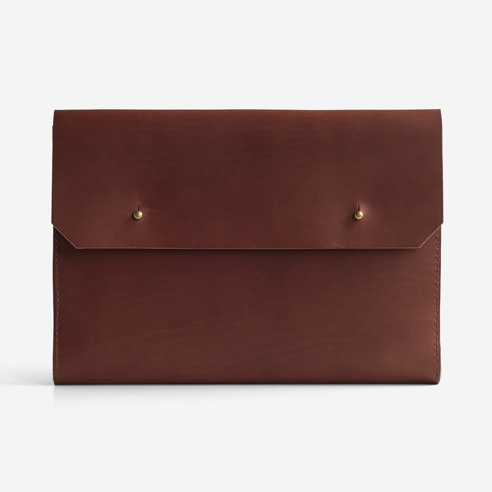 Noise Goods: Folio Clutch A4 Chocolate - 1