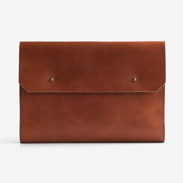 Noise Goods: Folio Clutch A4 Hazelnut - 1