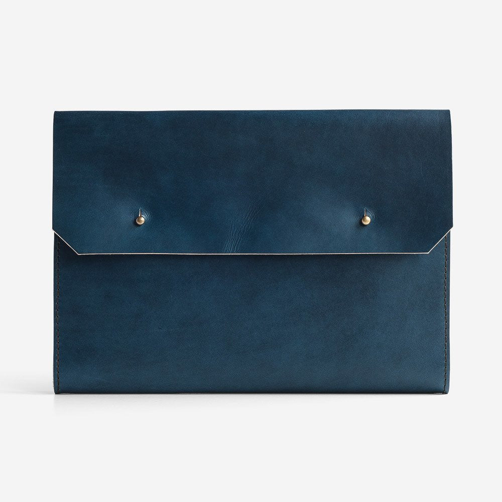 Noise Goods: Folio Clutch A4 Indigo - 1