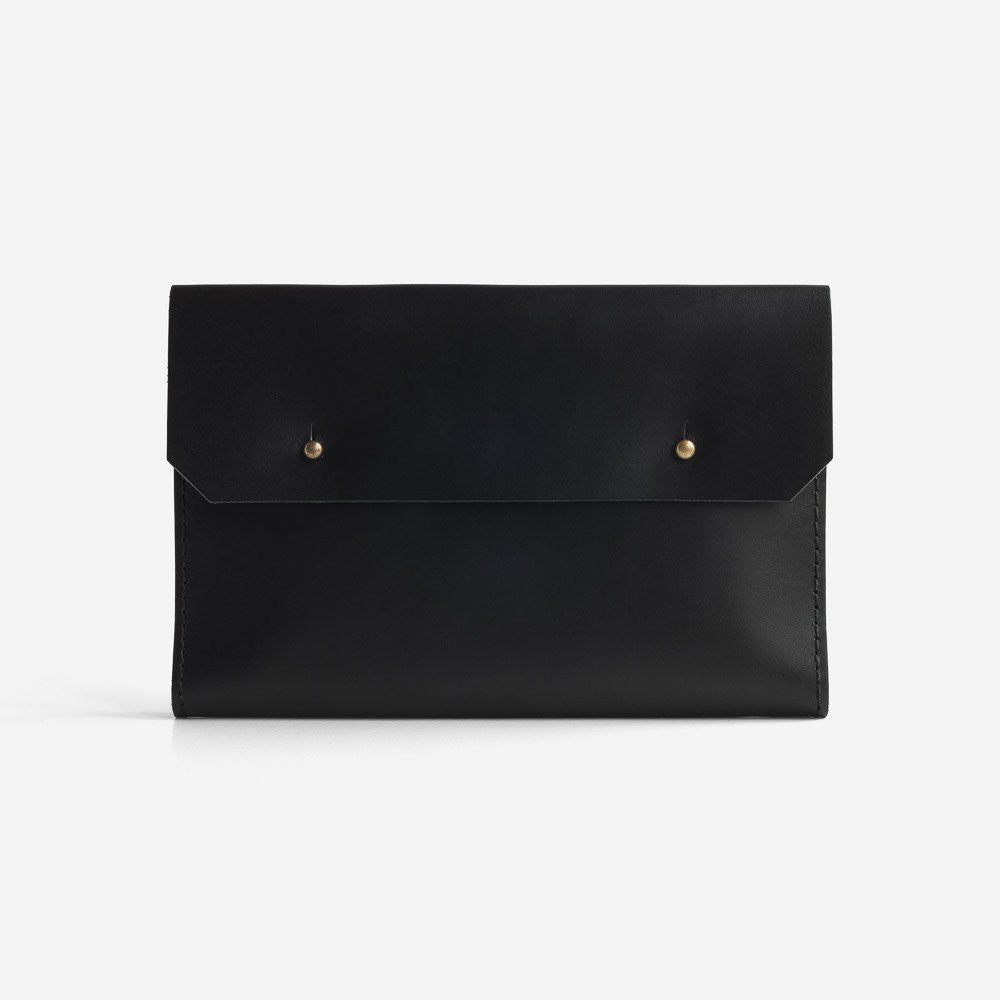 Noise Goods: Folio Clutch A5 Black - 1