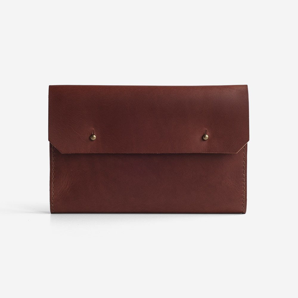 Noise Goods: Folio Clutch A5 Chocolate - 1