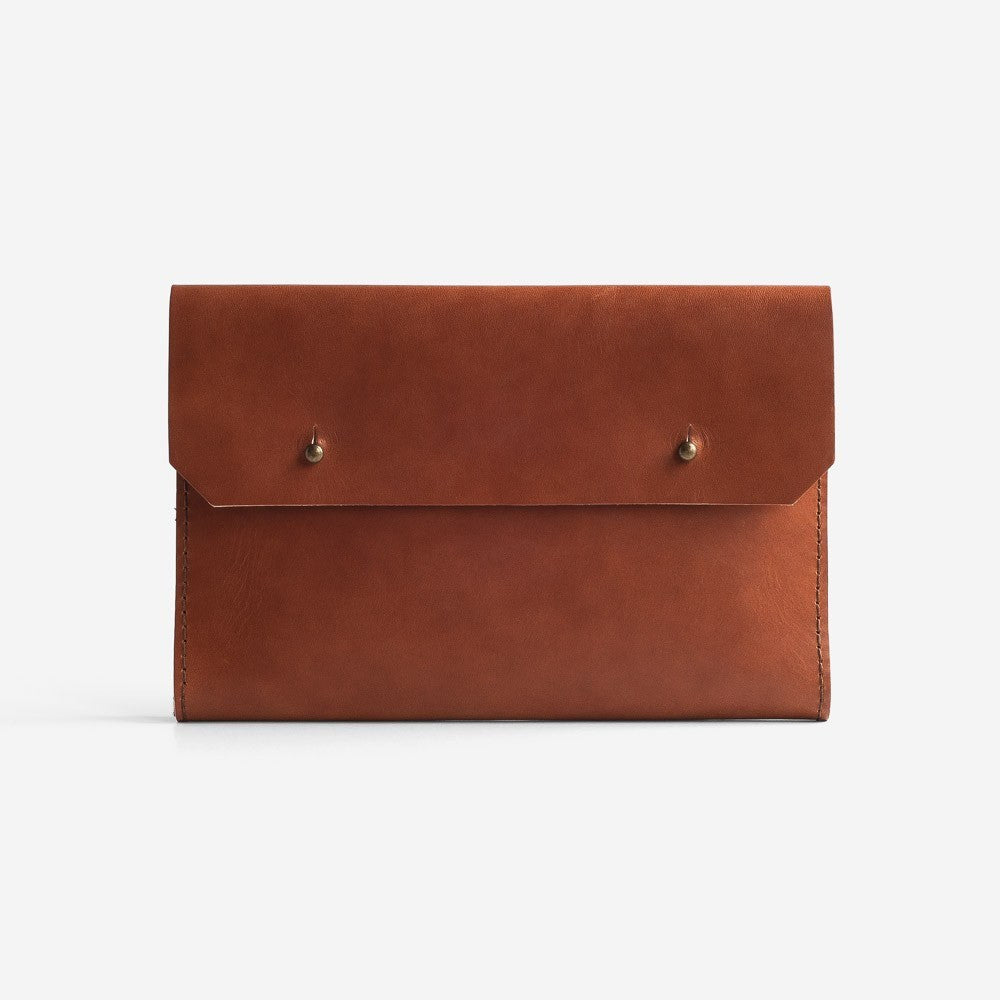 Noise Goods: Folio Clutch A5 Hazelnut - 1