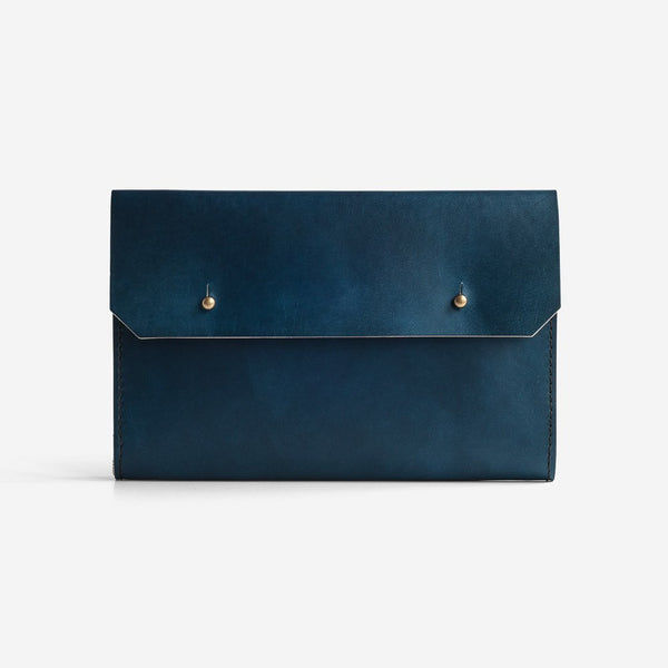 Noise Goods: Folio Clutch A5 Indigo - 1