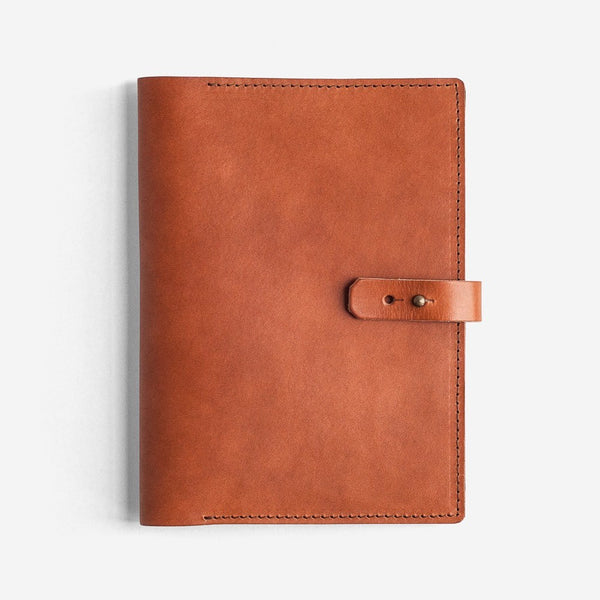 Noise Goods: Book Wallet A5 Hazelnut - 1