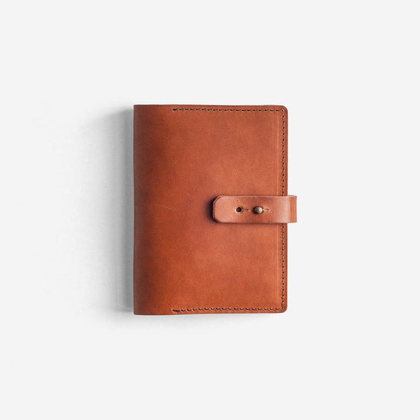 Noise Goods: Book Wallet A6 Hazelnut - 1