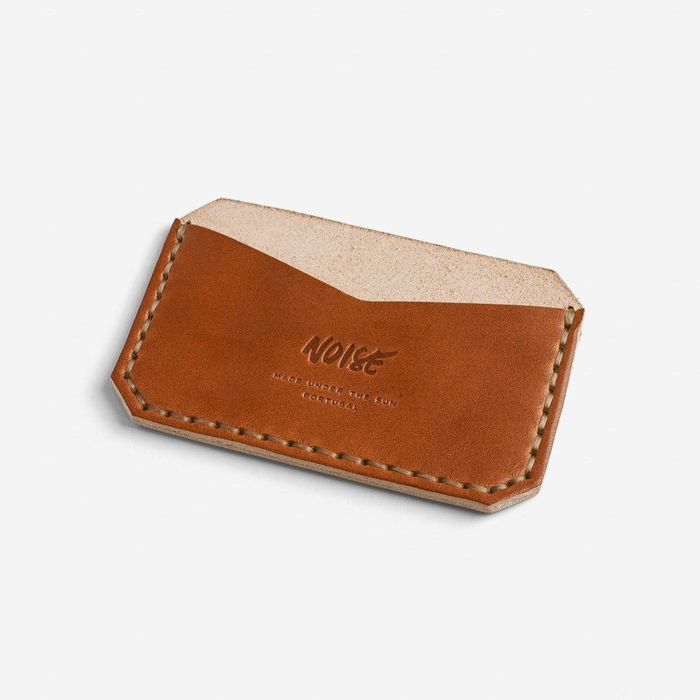 Noise Goods: Card Holder Hazelnut - 1