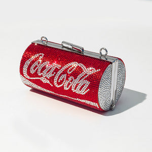 Coca Cola LIMITED EDITION Diamonds Clutch Bag red