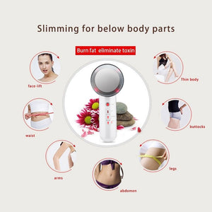 3 in 1 Ultrasound Anti-Cellulite Slimming Massager