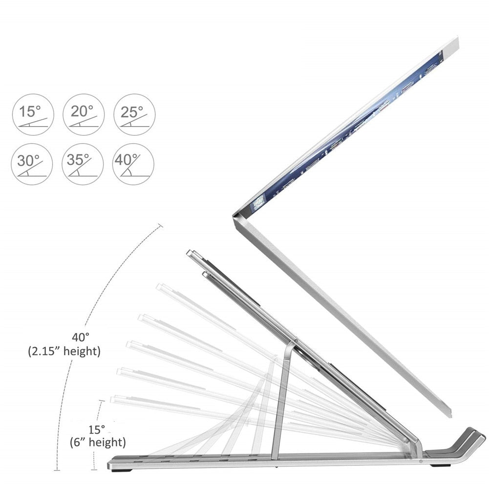 Adjustable & Portable Laptop Stand
