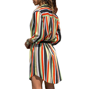 Long Sleeve Shirt Beach dress