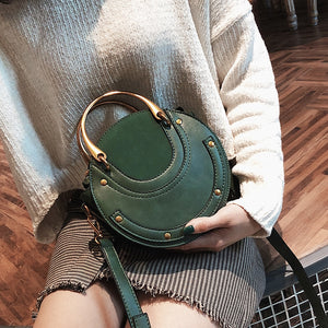 Hot Fashion Round Handbag Shoulder Messenger Bag Luxury Designer