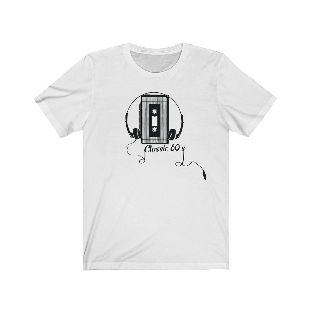 Tape Player Light Unisex Jersey Short Sleeve Tee