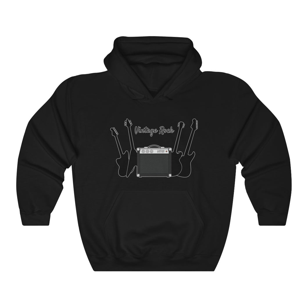 Amp and Guitar Unisex Heavy Blend™ Hooded Sweatshirt