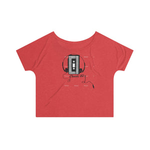 Cassette Player Women's Slouchy top