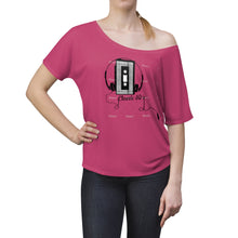 Load image into Gallery viewer, Cassette Player Women's Slouchy top