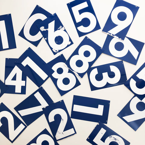 15 Inch American Gas Station Numbers