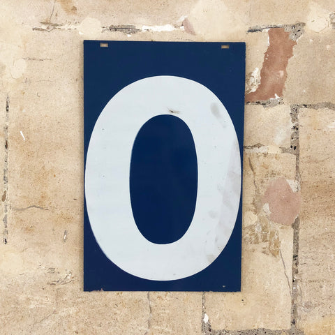 0 & 5 - Extra Large American Gas Station Sign (double sided)