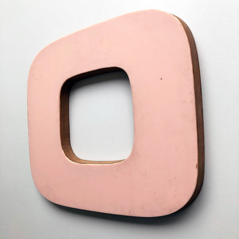 0 or O - Large Letter Ply and Perspex