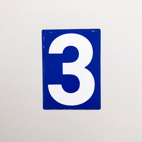 3 & 4 - Medium American Gas Station Sign (double sided)