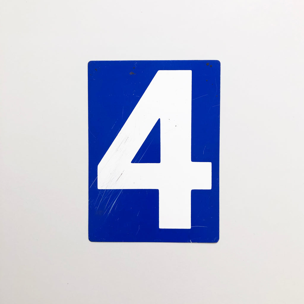 4 & 5 - Medium American Gas Station Sign (double sided)