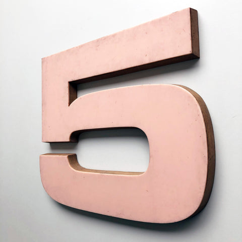 5 - Large Letter Ply and Perspex
