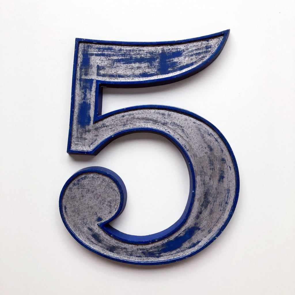 5 - Medium Number Metal