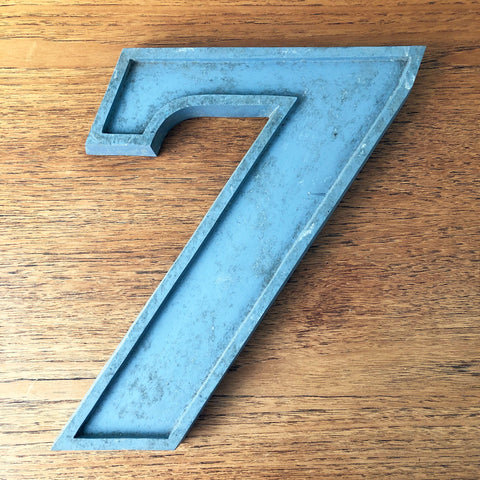 7 - Large Number Metal