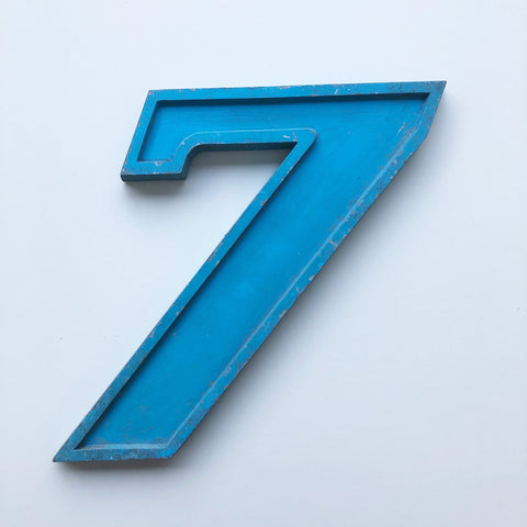 7 - Medium Number Metal