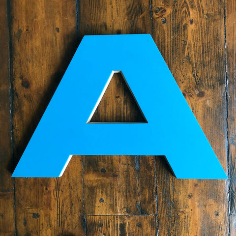 A- Large Letter Ply and Perspex